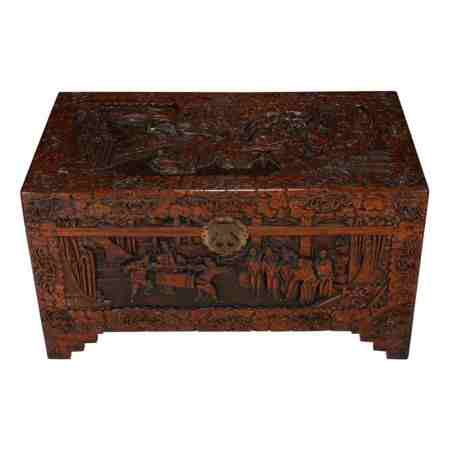 Carved Chinese Box