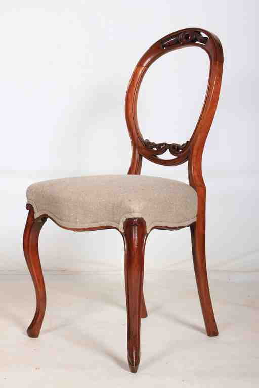 Antique Dining Table and Chairs in London Victorian & Burr Walnut